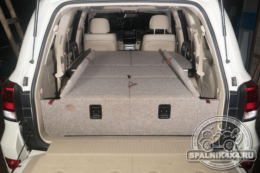 Стандартная комплектация автоспальника для Тойота Ленд Крузер 200