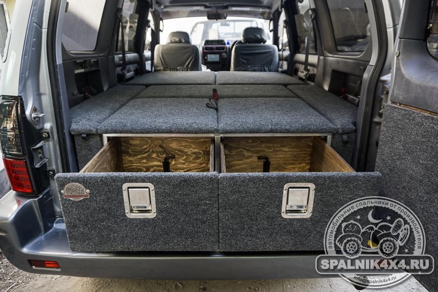 Автомобильный спальник для Тойота Прадо 95 - дорестайл