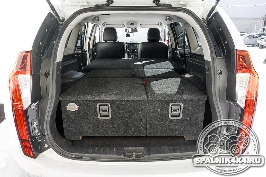 Нестандартный автомобильный спальник для Паджеро Спорт 3го поколения.