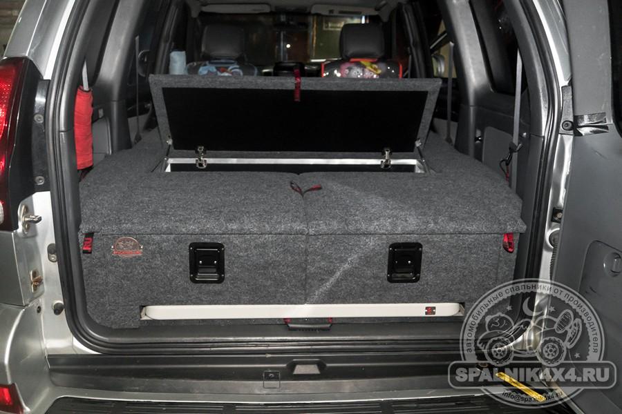 Спальник с интегрированным столом для Тойота Прадо 120