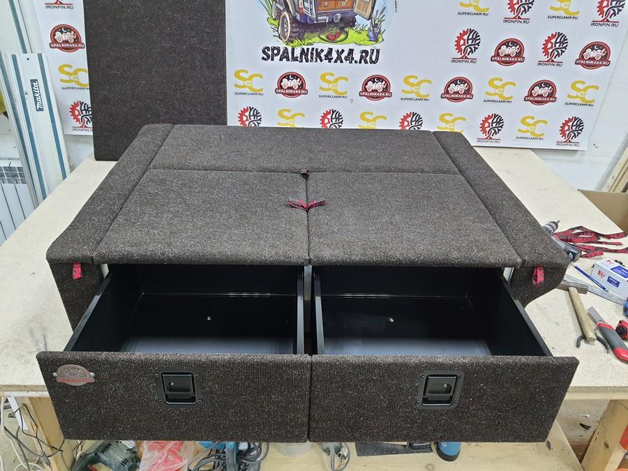Автоспальник для Ниссан Сафари / Патрол Y61 дорестайл стандартной комплектации