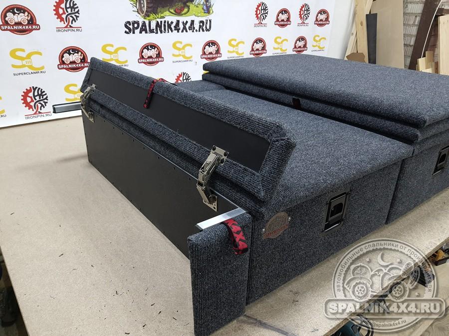 Автомобильный спальник с ящиками увеличенного объема для Ниссан Сафари / Патрол Y61