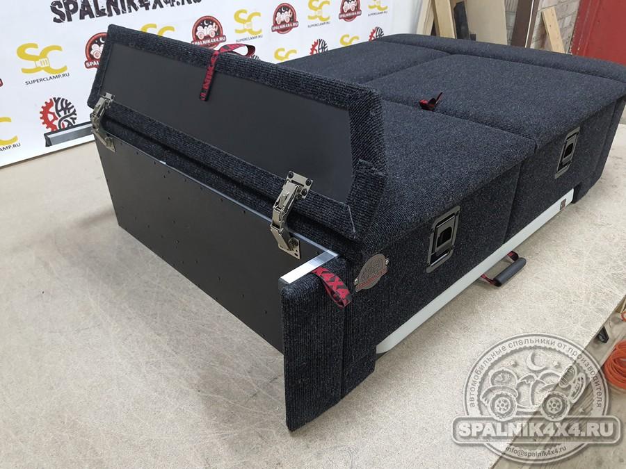 Автомобильный спальник с интегрированным столом для УАЗ Патриот