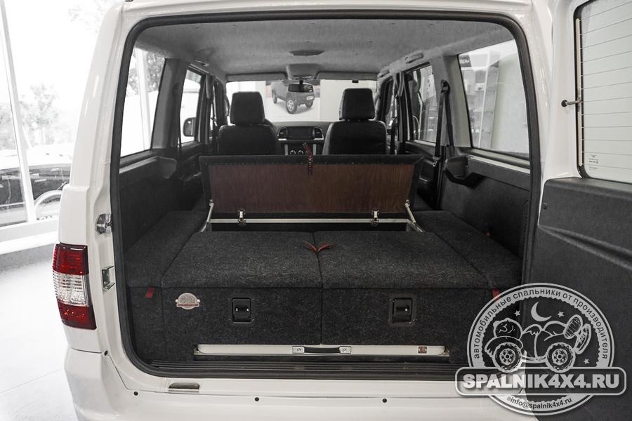 Автомобильный спальник с интегрированным столом для УАЗ Патриот Arctic Edition