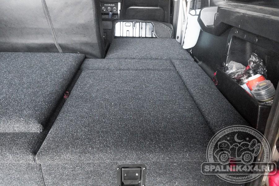 УАЗ Патриот -  автомобильный спальник с ящиками увеличенного объема