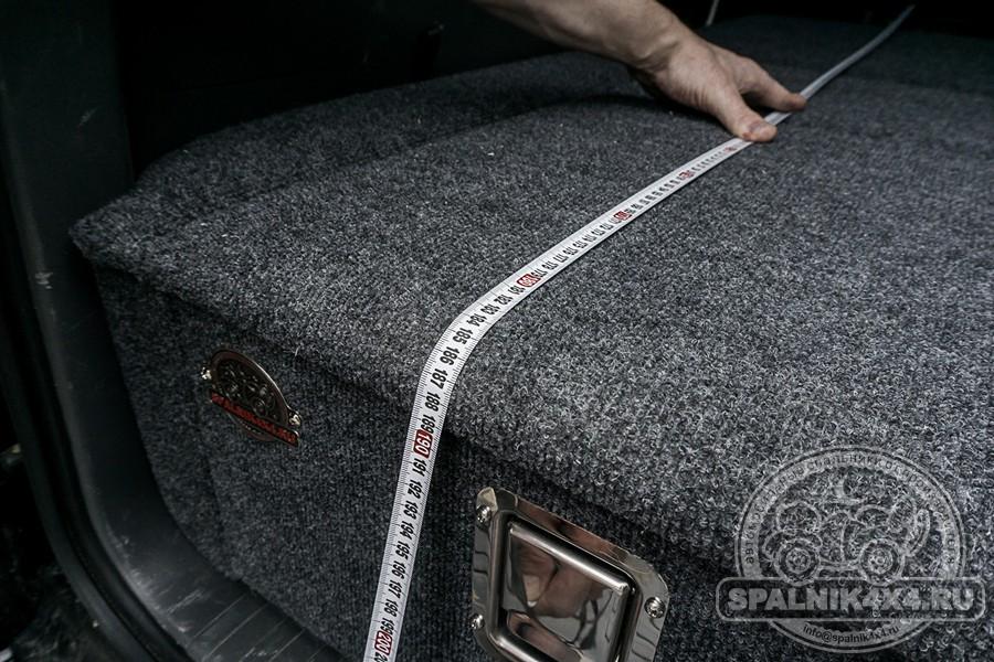 Автомобильный спальник для Тойота Прадо 150. Модельный ряд до 2017 года