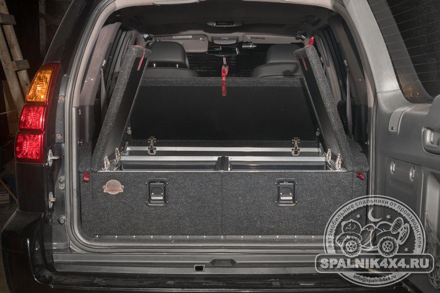 Lexus GX 470 автомобильный органайзер-спальник стандартной комплектации