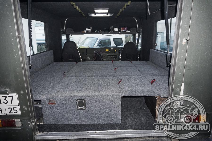 Нестандартный спальник для Toyota MegaCruiser