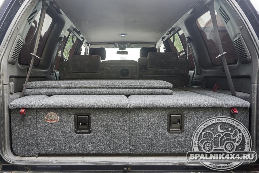 Автомобильный спальник для Isuzu Bighorn стандартной комплектации