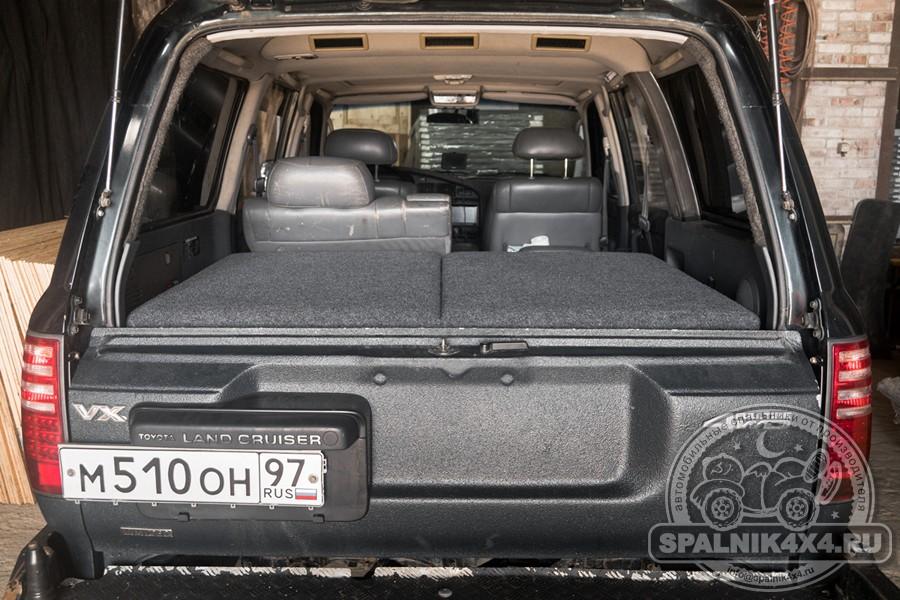 ТЛК80 - автомобильный спальник с туристическим столом и накладка на заднюю дверь