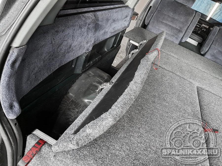 Автомобильный спальник для Nissan Vanette без выдвижных ящиков