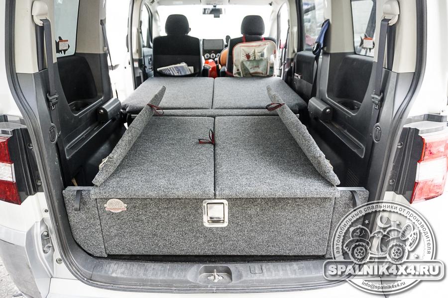 Автомобильный спальник для MMC Delica D5 без выдвижных ящиков