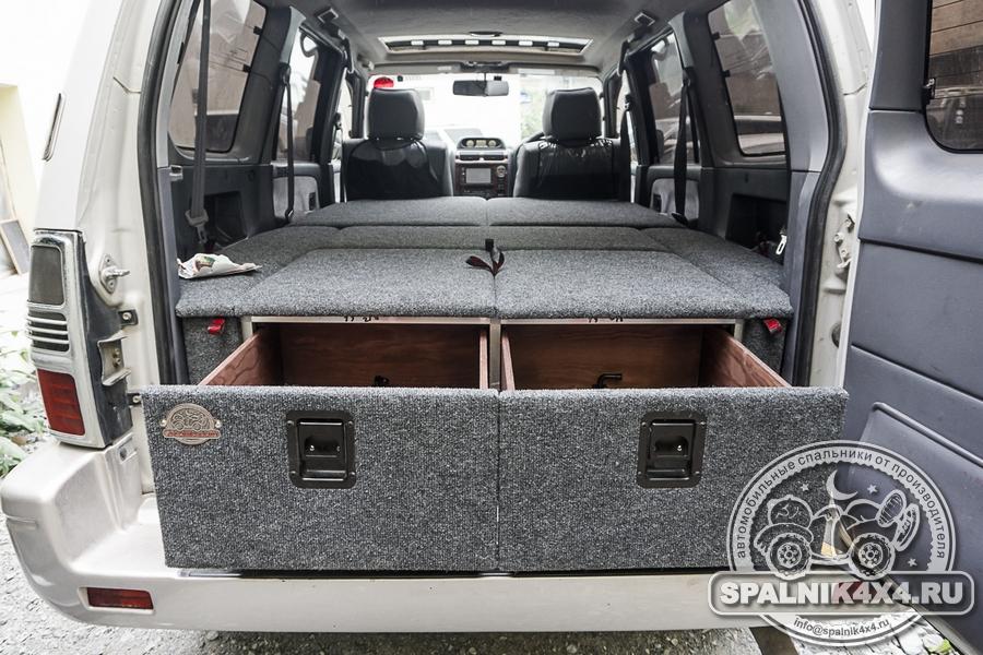 Спальник стандартной комплектации для Тойота Прадо 95 с кондиционером в правой арке