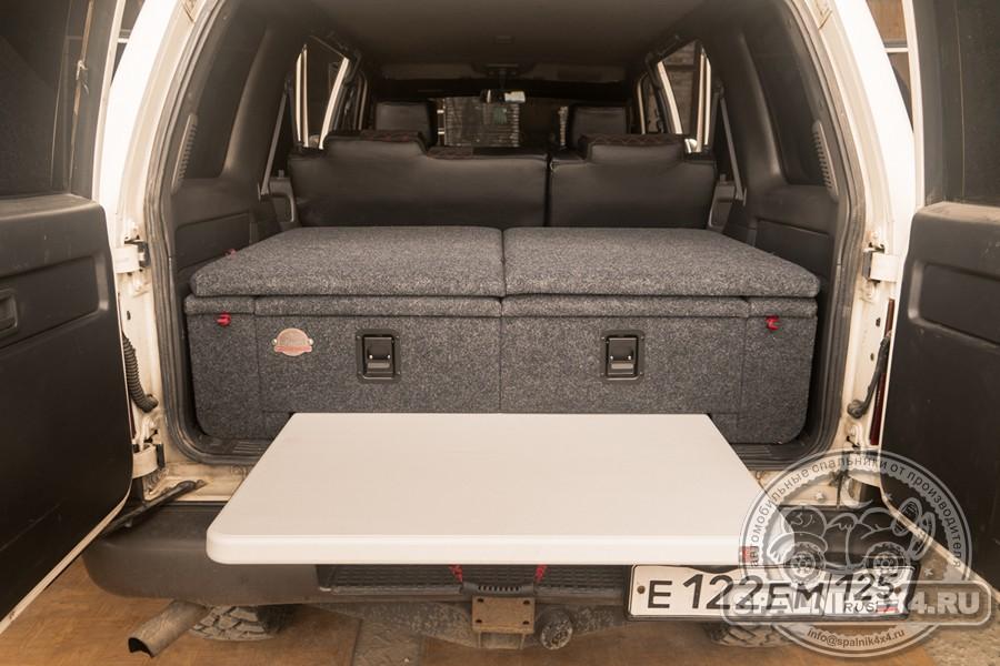 Isuzu Bighorn - автомобильный спальник с интегрированным столом для Исузу Бигхорн