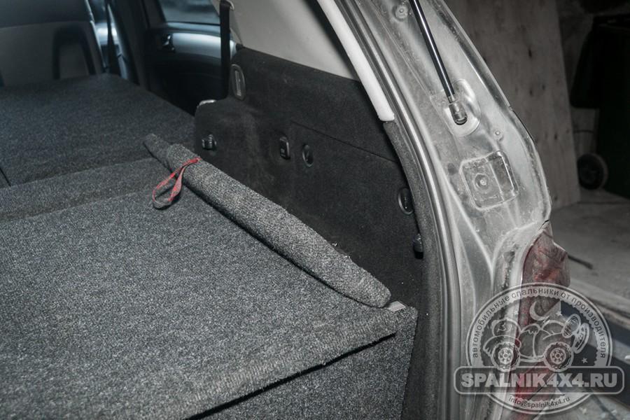 Кастомный спальник для Mercedes ML 350