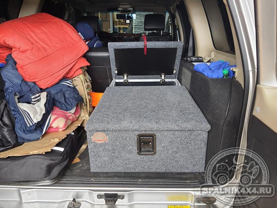 Nissan Safari Y61 - спальник для одного