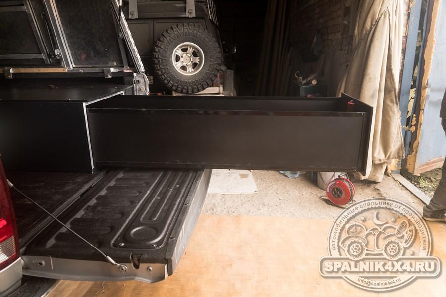 Dodge Ram - выдвижной ящик размером 2м. Органайзер в кунг