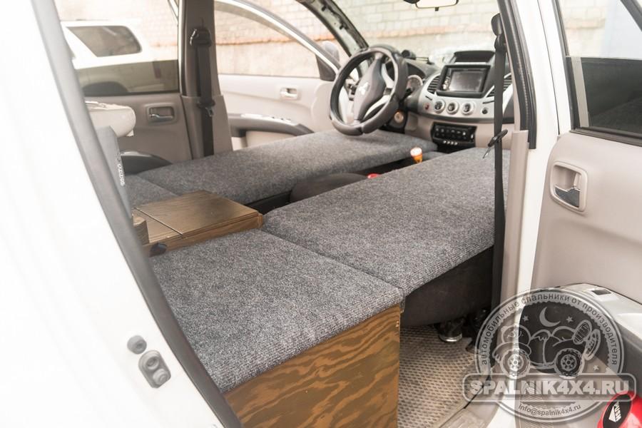 Нестандартный автомобильный спальник для MMC L200