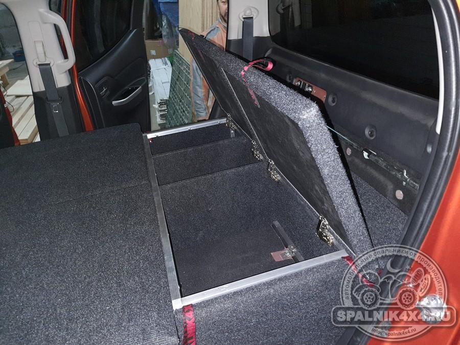 Автомобильный спальник для Mitsubishi L200 следующего поколения