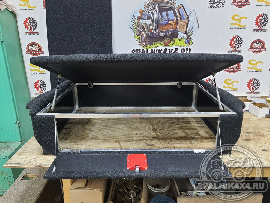 Тойота Рав4 - автомобильный спальник без ящиков